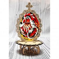 Писанка для вышивки бисером по дереву Петушок Biser-Art 37714