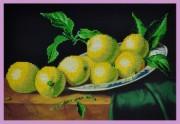 Набор для вышивки бисером Натюрморт с лимонами