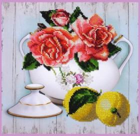 Набор для вышивки бисером Чайный дуэт 2 Картины бисером P-391 - 300.00грн.
