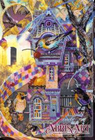 Набор для вышивки бисером на холсте Птичий городок, , 544.00грн., АВ-622, Абрис Арт, Пейзажи