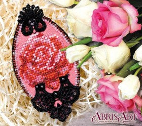 Набор для вышивки бисером украшения на натуральном художественном холсте Страсть Абрис Арт AD-014 - 111.00грн.