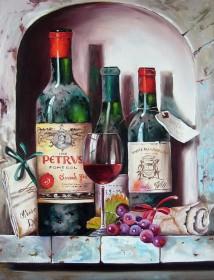Набор для выкладки алмазной мозаикой Старинные вина Алмазная мозаика DM-239 - 640.00грн.