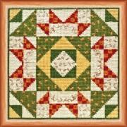 Набор для вышивки крестом Квилт. Осень