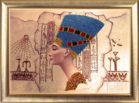 Схема вышивки бисером на атласе Нефертити Баттерфляй (Butterfly) СА417Б - 66.00грн.