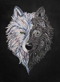 Набор для вышивки крестом Волк Абрис Арт АН-125 - 324.00грн.
