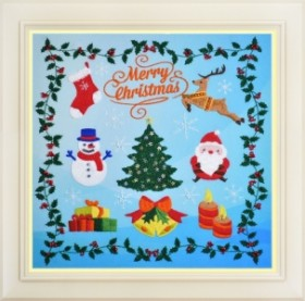 Набор для вышивки нитками (стиль Rococo) Merry Christmas OLANTA R - 038 - 305.00грн.