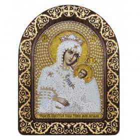 Набор для вышивки икон в рамке-киоте Образ Прсв. Богородицы Утоли моя печали