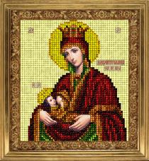 Набор для вышивки ювелирным бисером Икона Млекопитательница Краса и творчiсть 70913