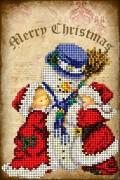 Набор для вышивки ювелирным бисером Рождественские истории 4