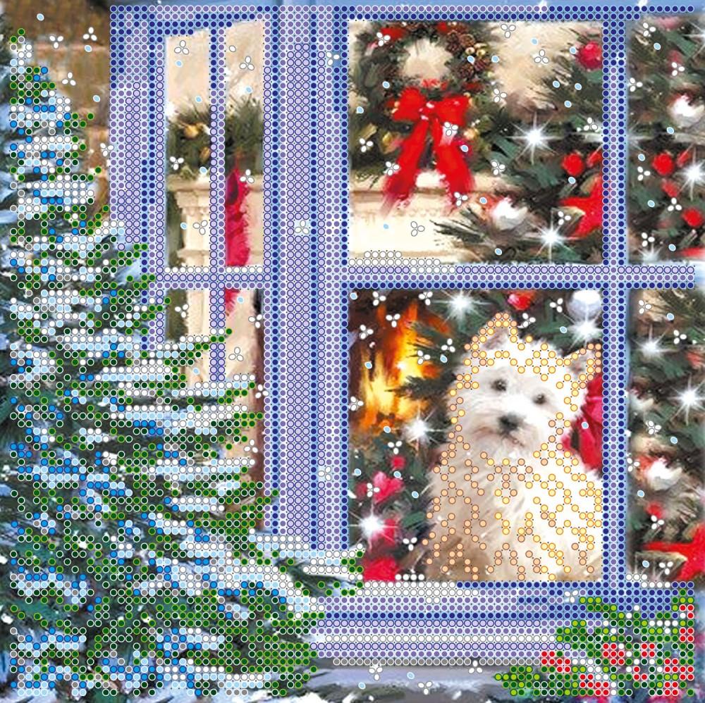 Вышивка рождественская история схема