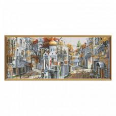 Набор для вышивки крестом Обратная сторона столицы Новая Слобода (Нова слобода) РЕ0335