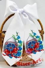 Пасхальнаый бант для вышивки бисером  Biser-Art В24019