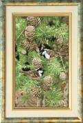 Набор для вышивки крестом Настроение леса