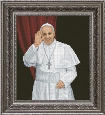 Набор для вышивки крестом Папа Римский