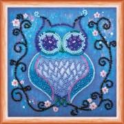 Набор для вышивки бисером Синяя сова