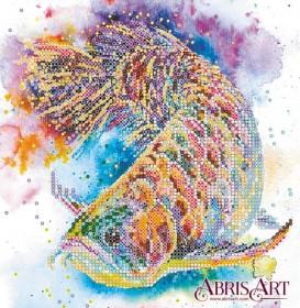 Схема вышивки бисером на холсте Рыбка удачи, , 53.00грн., АС-555, Абрис Арт, Коты, бабочки, волки и птицы