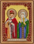 Набор для вышивки бисером Пётр и Февронья