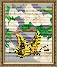 Набор для выкладки алмазной мозаикой Яблоневый цвет Триптих Часть 2