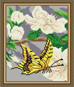 Набор для выкладки алмазной техникой Яблоневый цвет Триптих Часть 2, , 280.00грн., АТ5558, Art Solo, Картины из нескольких частей