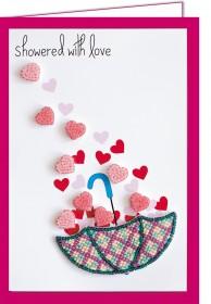 Набор - открытка 3D для вышивки бисером  Дождь любви Абрис Арт АОО-006 - 150.00грн.