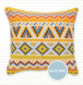 Набор подушки для вышивки крестом Узоры