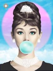 Схема вышивки бисером на атласе Bubble gum Tiffany style Миледи СЛ-3380
