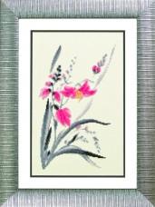 Набор для вышивания в смешанной технике Аленький цветочек Чарiвна мить (Чаривна мить) М-113