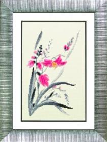 Набор для вышивания в смешанной технике Аленький цветочек Чарiвна мить (Чаривна мить) М-113 - 235.00грн.