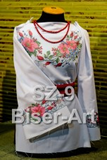 Заготовка для вышивки бисером Сорочка женская Biser-Art Сорочка жіноча SZ-9 (льон)