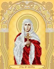 Схема вышивки бисером на атласе Св. Мученица Валерия (Калерия) А-строчка АС4-135
