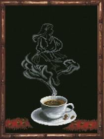 Набор для вышивки крестом Кофейная фантазия. Дева 1 Краса и творчiсть 30813 - 229.00грн.