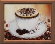 Схема для вышивки бисером Чашка кофе