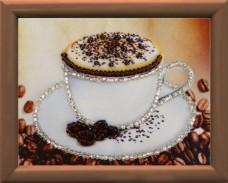Схема для вышивки бисером Чашка кофе Баттерфляй (Butterfly) СМ089