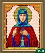Рисунок на ткани для вышивки бисером Святая Анна