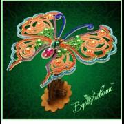 Набор для вышивки бисером Ажурная бабочка 3D 082