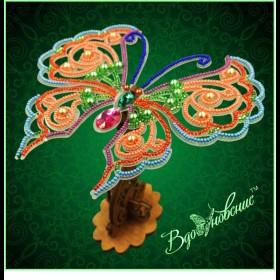 Набор для вышивки бисером Ажурная бабочка 3D 082 Вдохновение BGP-082 - 169.00грн.
