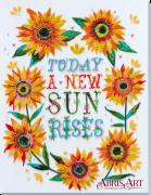 Набор для вышивки бисером на холсте Маленькие солнца