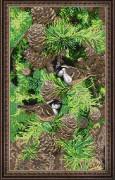 Набор для вышивки бисером Настроение леса