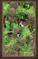 Набор для вышивки бисером Настроение леса Краса и творчiсть 20213
