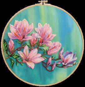 Набор для вышивки бисером на холсте Магнолии цветут Абрис Арт АВ-806 - 446.00грн.