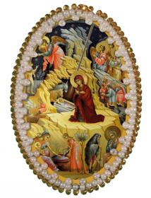 Набор для изготовления подвески Рождество Христово Zoosapiens РВ3211 - 135.00грн.