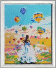 Набор для вышивки бисером Полет мечты, , 529.00грн., 498Б, Баттерфляй (Butterfly), Пейзажи