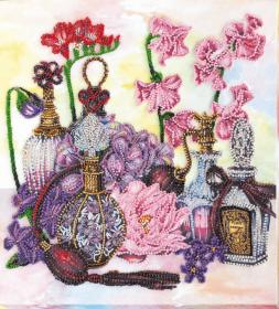 Набор для вышивания бисером Цветочный шлейф Абрис Арт АВ-800 - 405.00грн.
