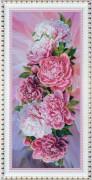 Набор для вышивки бисером Розовые пионы
