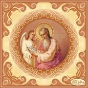 Схема вышивки бисером на атласе Святой Апостол и Евангелист Матвей