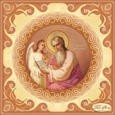 Схема вышивки бисером на атласе Святой Апостол и Евангелист Матвей Tela Artis (Тэла Артис) ТИС-015