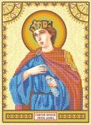 Схема для вышивки бисером на холсте Святой Давид
