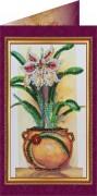 Набор - открытка Цветы в подарок