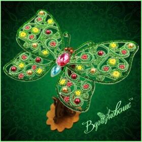 Набор для вышивки бисером Ажурная бабочка 3D 087 Вдохновение BGP-087 - 169.00грн.