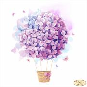 Схема для вышивки бисером на атласе Цветочные мечты
